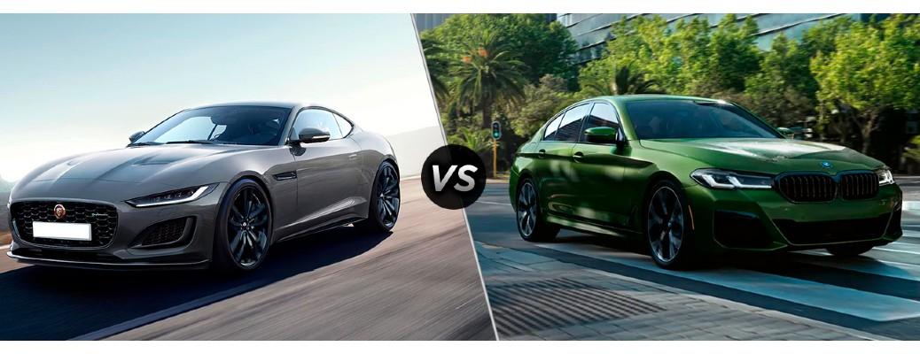 2021 Jaguar F-Type vs 2021 BMW 5 Series