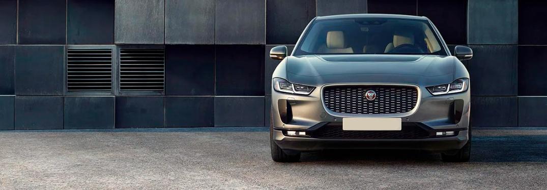 2022 Jaguar I-PACE parked in a driveway