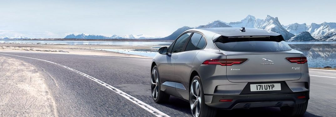 Rear-view of the 2021 Jaguar I-PACE