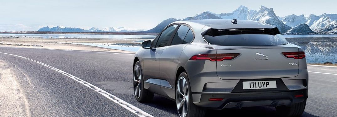 rear view of the 2022 Jaguar I-Pace