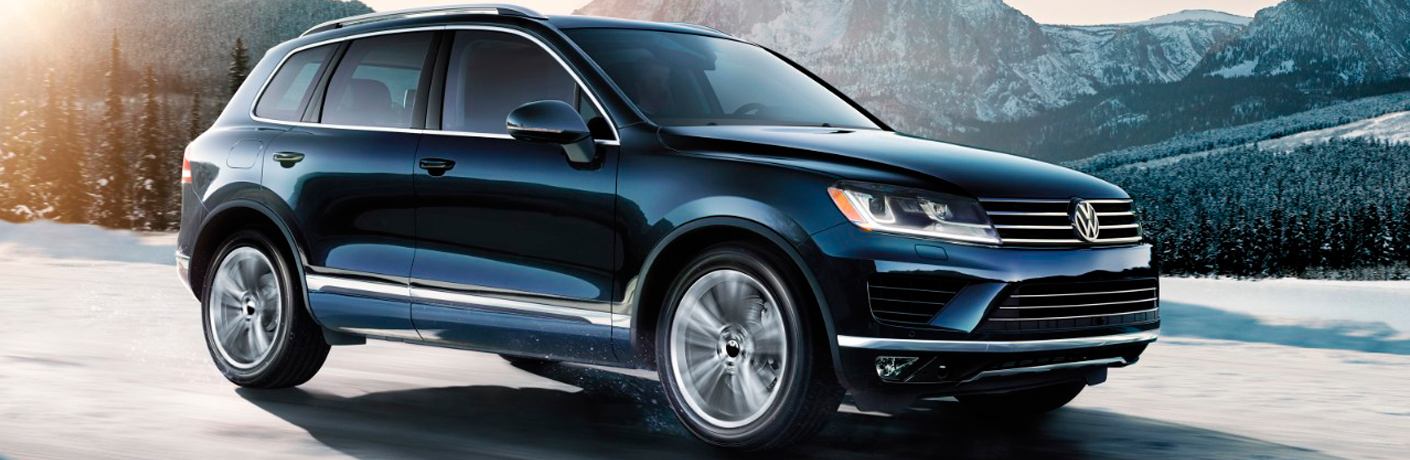 How powerful is the Volkswagen Touareg?