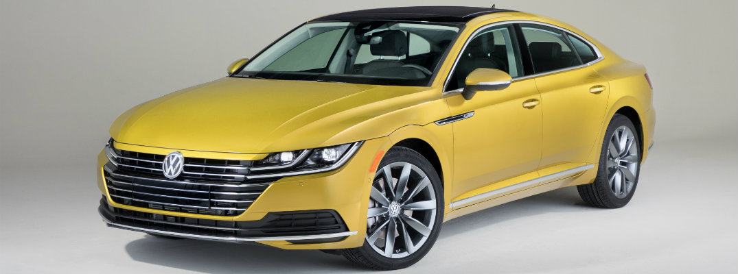 2019 Volkswagen Arteon showcase shot Chicago Auto Show debut