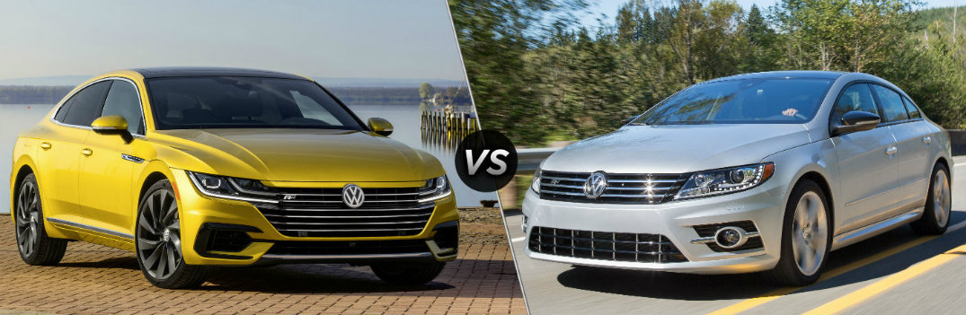 How Does the New VW Arteon Compare to the Old VW CC?