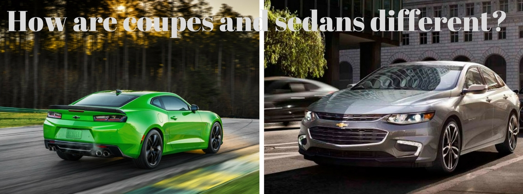 Differences between sedans and coupes