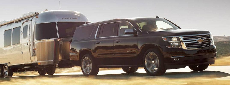 2018 Chevrolet Silverado towing trailer