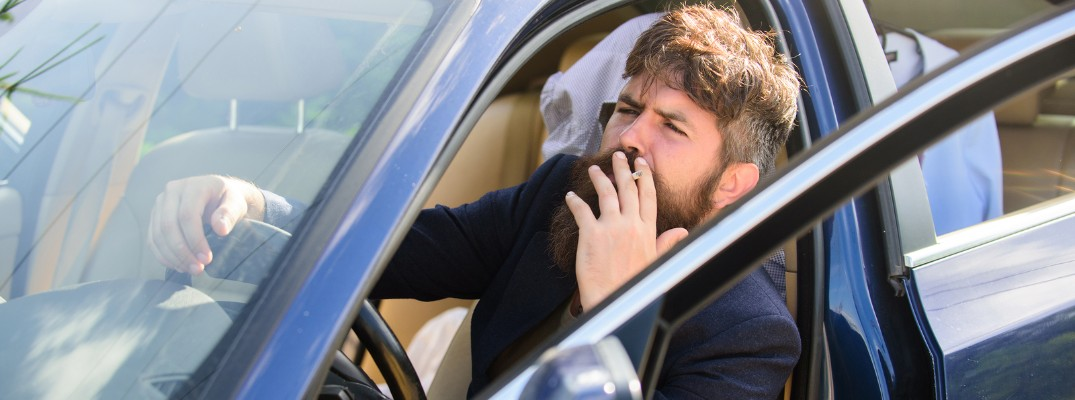 How to get a smoke smell out of your car