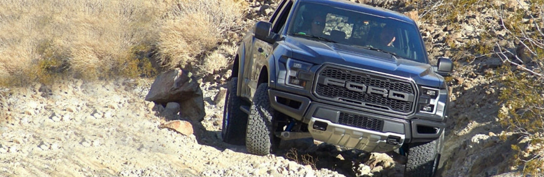 2018 Ford F-150 going off-road