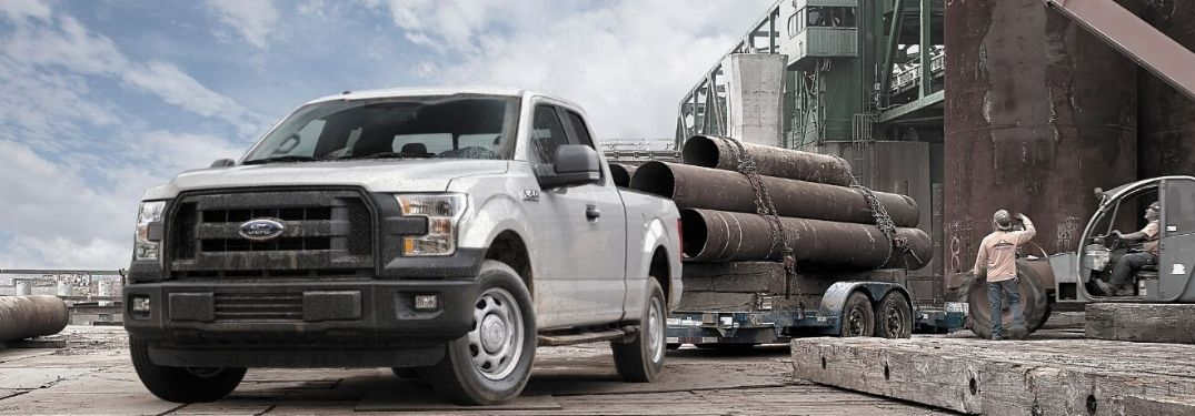 2015 Ford F-150 towing pipe