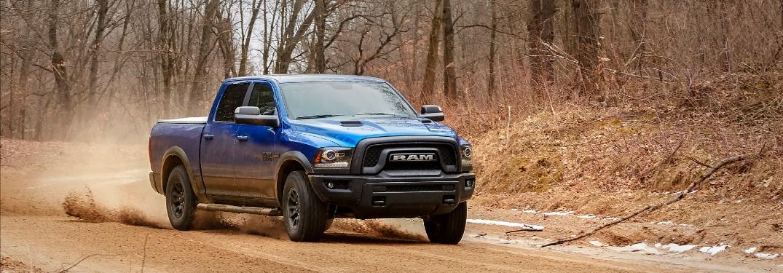 2017 RAM 1500 on road