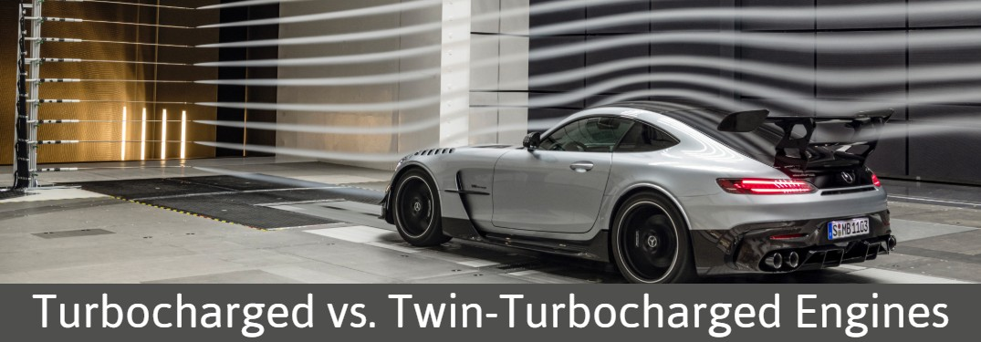 2021 Mercedes-AMG GT Black Line with Turbocharged vs. Twin-Turbocharged Engines