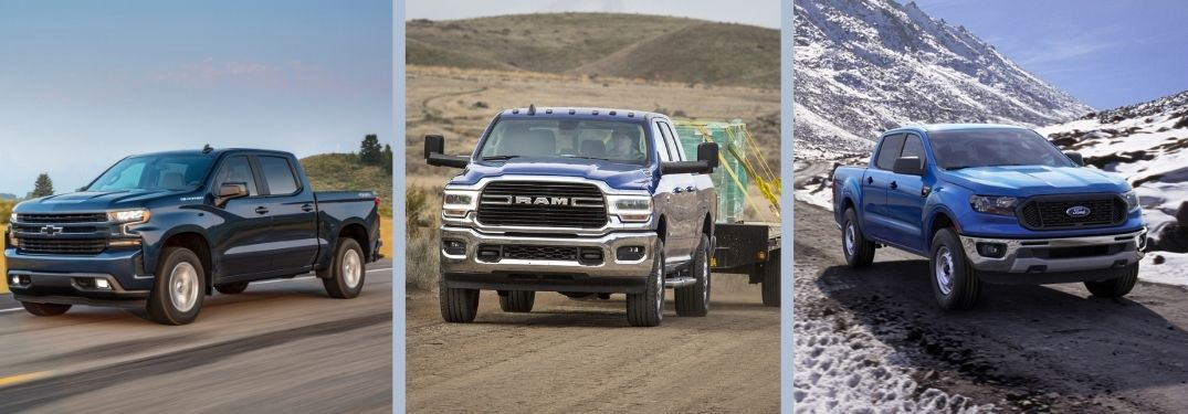 RAM 1500 vs Chevy Silverado vs Ford F-150