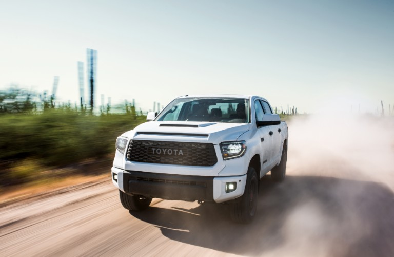 2019 Toyota Tundra on road