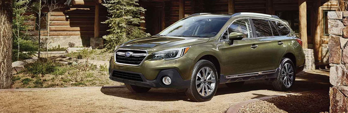 2019 Subaru Outback from front