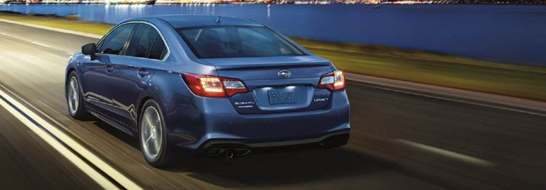 2019 Subaru Legacy from rear