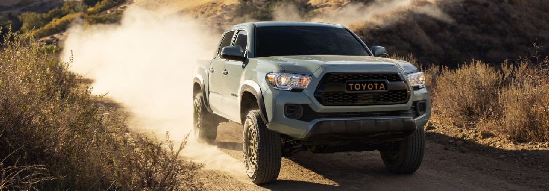 2022 Toyota Tacoma from exterior front