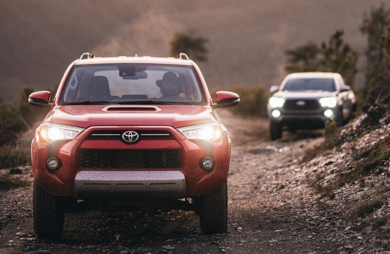 Toyota 4Runner vehicles off-rad