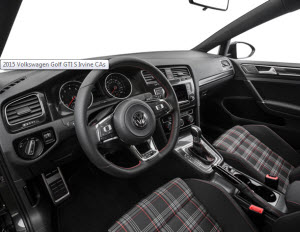 Most Fuel Efficient Volkswagen Vehicles For Business Commuters » 2016 Golf GTI  Interior