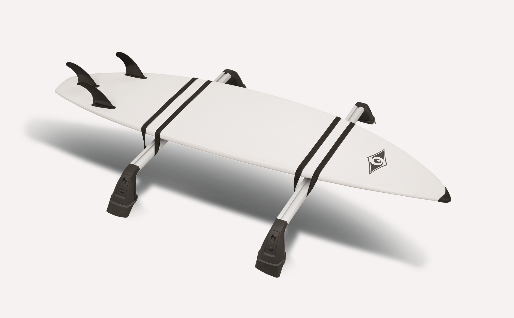 Surf Board on Roof Rack Accessory