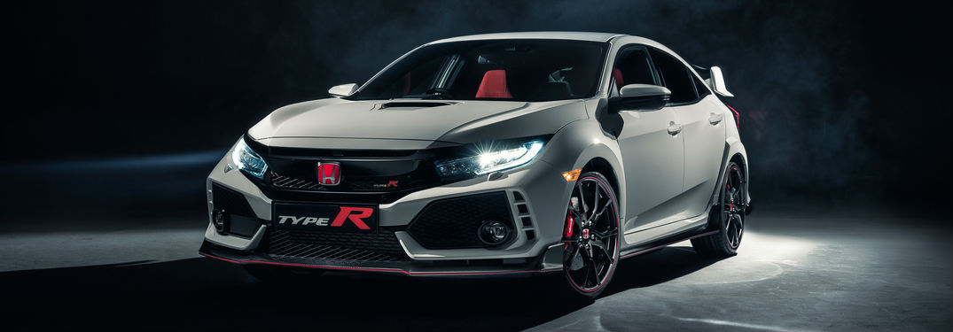 2017 Honda Type R model front view