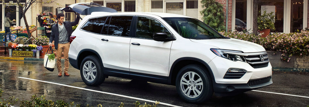 Information and specs for Honda's sport utility vehicles