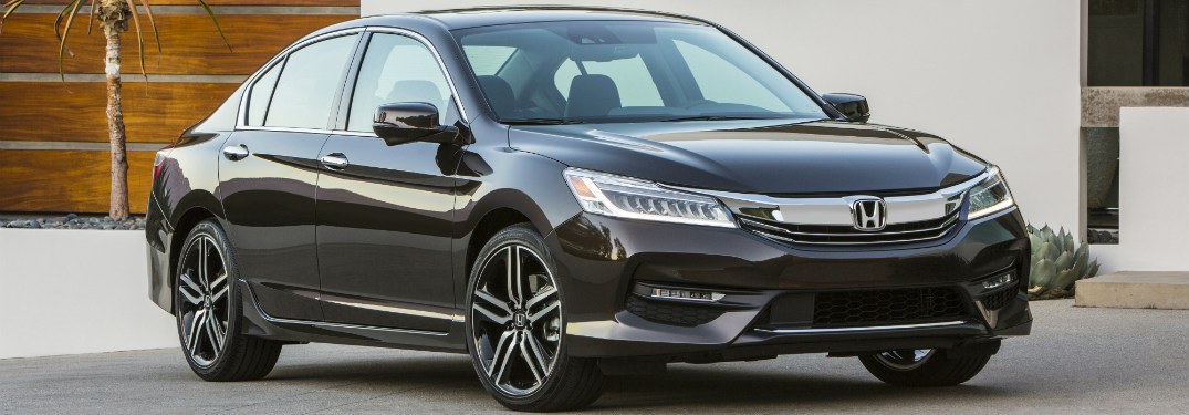 2017 Honda Accord Sedan side view