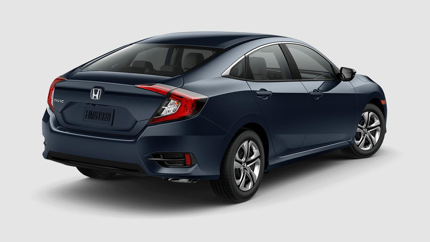 2017 honda civic sedan color options for All black honda civic