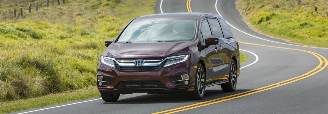 Available Features on the 2018 Honda Odyssey