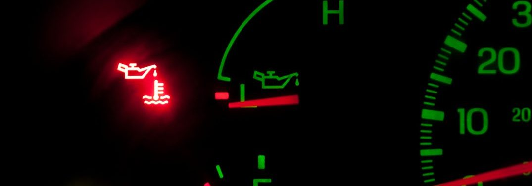 dash with no oil pressure and service engine light on