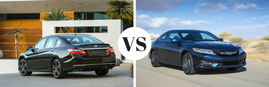 What are the differences between Honda coupes and sedans?