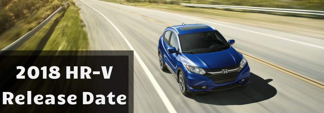 What's new for the 2018 HR-V?
