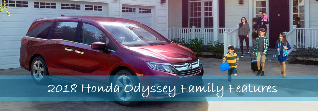 What are the features of the 2018 Honda Odyssey?