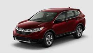 2018 Honda CR-V color options: Basque Red Pearl II