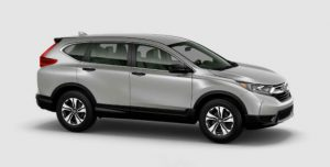 2018 Honda CR-V color options: Lunar Silver Metallic
