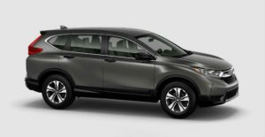 2018 Honda CR-V color options: Modern Steel Metallic