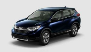 2018 Honda CR-V color options: Obsidian Blue Pearl
