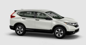 2018 Honda CR-V color options: White Diamond Pearl