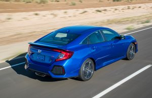 2018 Honda Civic Si Sedan with manual transmission