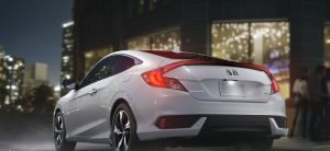 2018 Honda Civic Coupe with manual transmission