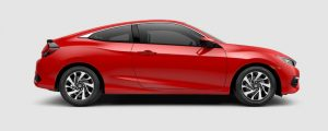2018 Honda Civic Coupe in Rallye Red