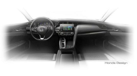 Honda Insight Prototype front interior