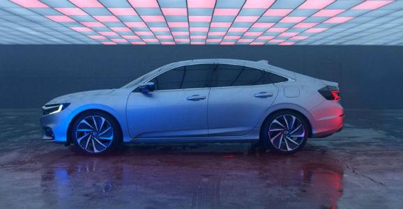 Honda Insight Prototype profile view