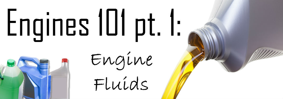 What are the different fluids in an engine?