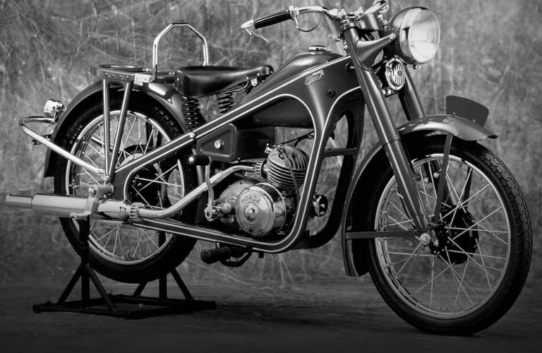 Honda's first motorcycle: the 1949