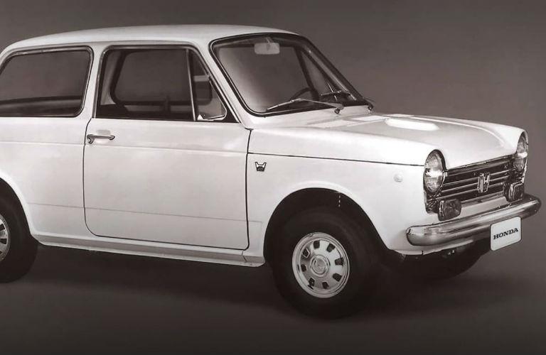 Honda's first car sold in America: the 1969 Honda N600