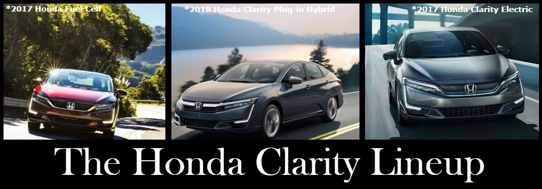 A quick look at the innovative Honda Clarity lineup