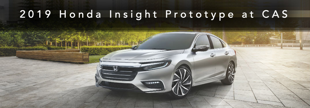 2019 Honda Insight Prototype at the Chicago Auto Show