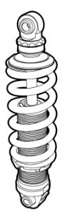diagram of a valve spring and tappet