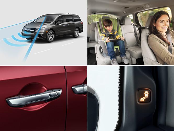2019 honda odyssey trim level differences indy honda for Honda odyssey magic seat