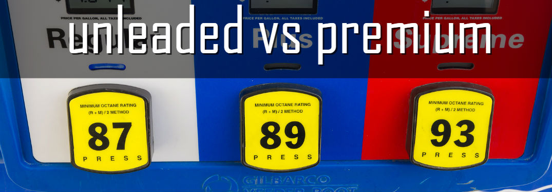 Do you know what fuel your vehicle takes?