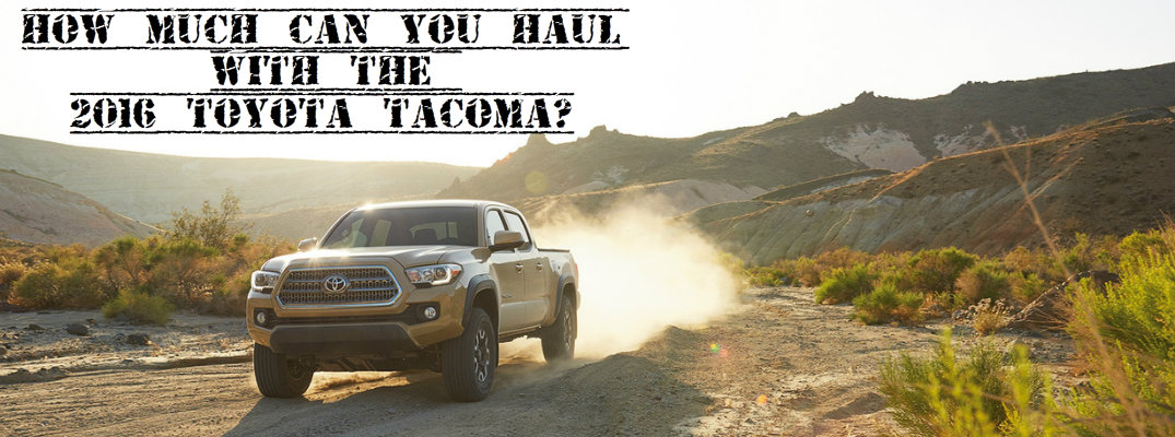 Toyota Tacoma Towing Capacity >> Toyota Tacoma Towing Capacity